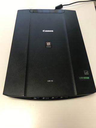 Esc/áner de documentos LED 2400 x 4800 ppp interfaz USB de alta velocidad negro 216 x 297 mm RGB de 3 colores m/áxima dimensi/ón A4 // Carta Canon CanonScan LiDE 110