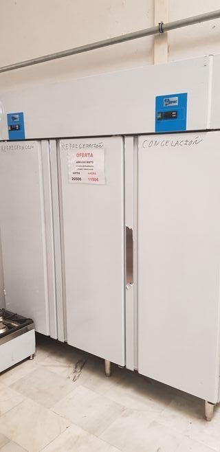 Armario de congelacion refrigeracion acero