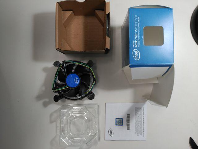 Disipador procesador Intel