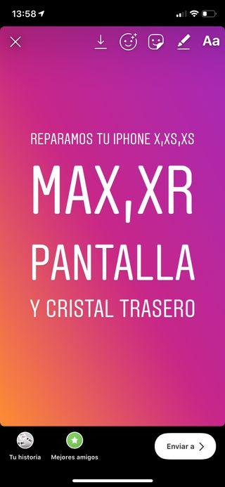 REPARACIÓN IPHONE X,XS,XS MAX,XR