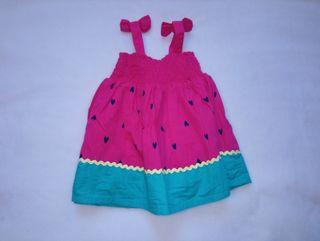 Vestido sandia C&A 74cm
