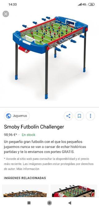 futbolín smoby