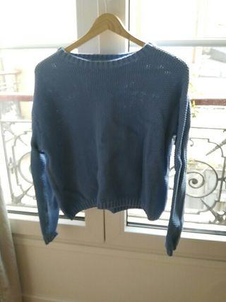 Maillot Bleu Bershka Taille XS