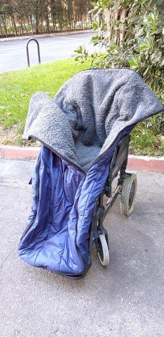 Saco invierno adulto para silla de ruedas