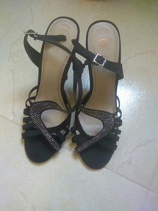 Zapatos tacón fiesta t40