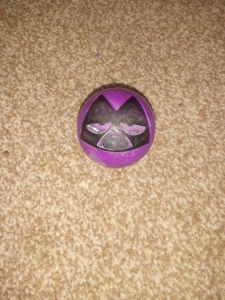 Mini purple ball.