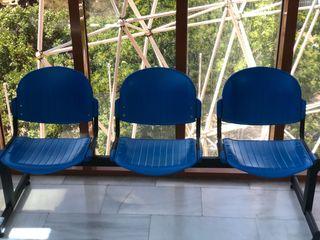 Bancada de asientos recepción