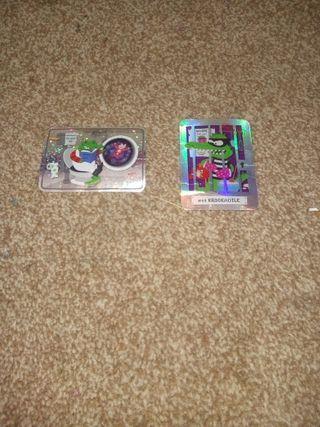 Rare bear yoyo cards.