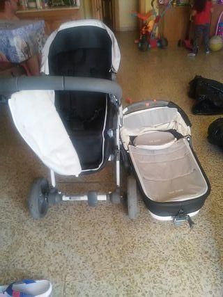 carrito bebe con silleta y camita