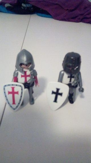 Playmobil Templarios, Soldados.
