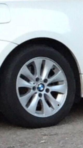 Llantas BMW 16' y neumáticos bridg. Run flat