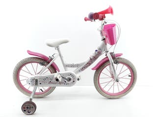BICICLETA NIÑA FASHION GIRL TALLA S 16""