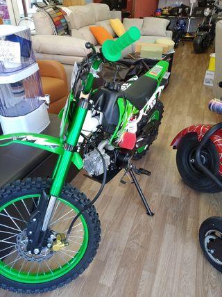pit bike 125cc,4 tiempos,nuevas