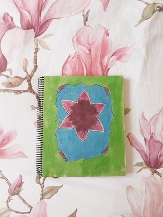 Libreta eco papel reciclado artesanal
