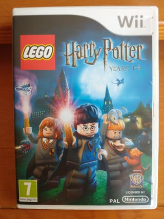 LEGO HARRY POTTER AÑOS 1 - 4 WII