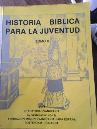 Historia bíblica de la juventud 5 libros