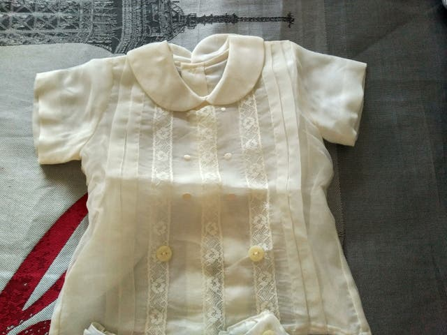 traje bautizo niño 6 meses