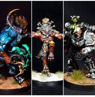Pintor de Miniaturas; Warhammer, Age of Sigmar...