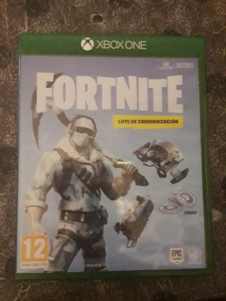 Fortnite: Lote de criogenizacion Xbox One