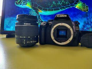 CANON EOS 550D con OBJETIVO 18-55MM