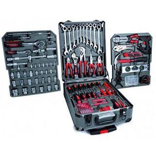 26a4c3e8f Maleta de herramientas Trolley 226Pzs llaves fijas