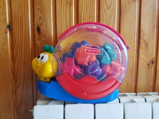 Caracol bloques Fisher Price