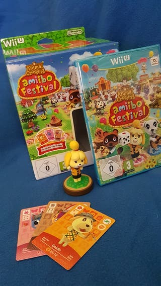 WiiU juego Animal Crossing amiibo Festival