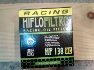 Filtro moto Hiflofiltro HF 138 RC