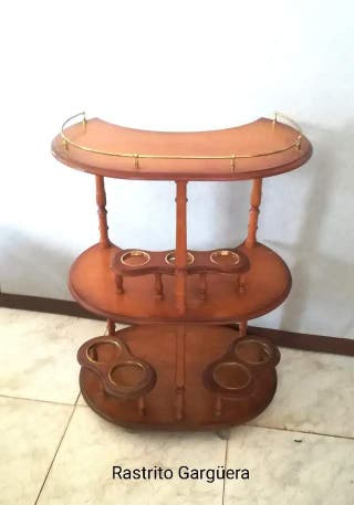 Vintage CAMARERA, MUEBLE BAR..