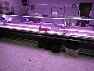Vitrina refrigerada tienda