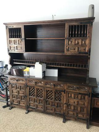 Mueble salón antiguo. Antigüedad.barato