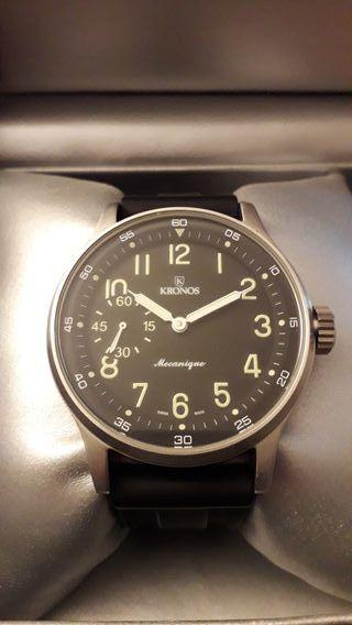 bebdfe911522 Reloj Kronos de segunda mano en WALLAPOP