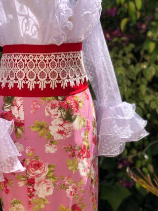 Traje de flamenca