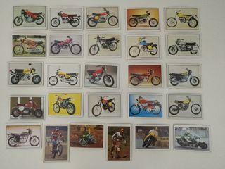 Lote 26 cromos Moto 80 de Ediciones Este año 1977