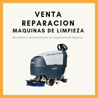 Venta y reparación de maquinaria de limpieza