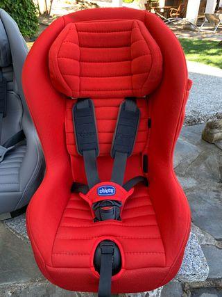 silla grupo 1 Chicco Xpace isofix roja