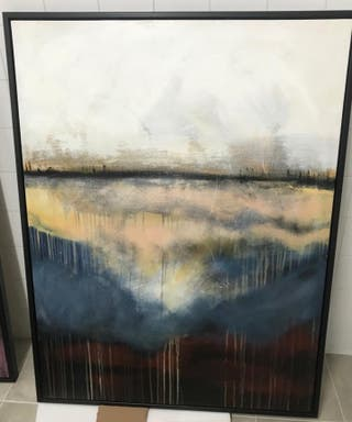 2 cuadros de 90*120 de pintor CARSTEN STRANDGAARD