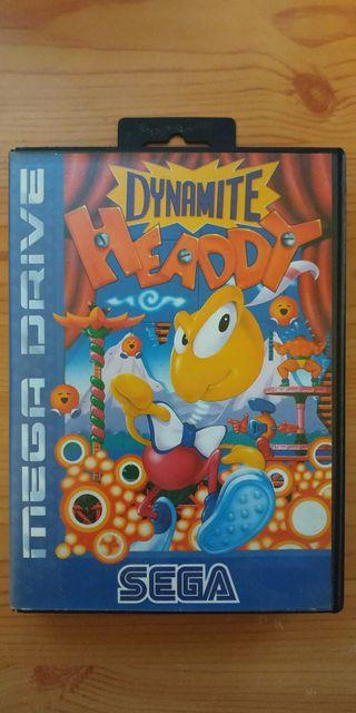 Videojuego Megadrive Dynamite Heady
