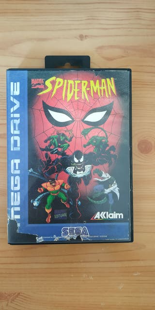 Videojuego Megadrive Spiderman