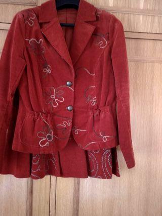 Traje de chaqueta mujer,talla 42, marca Trazos