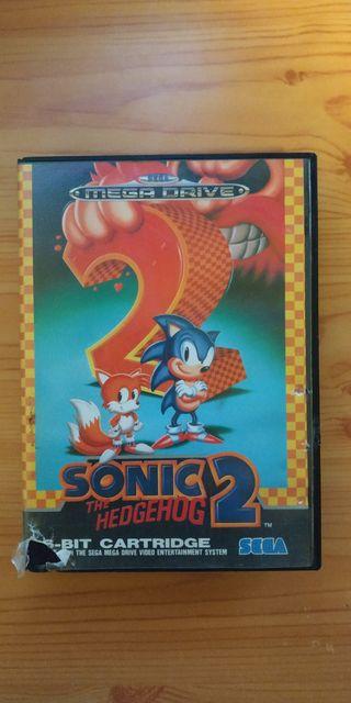 Videojuego Megadrive Sonic 2