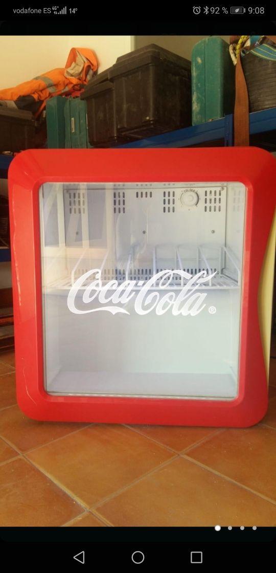 nevera coca cola
