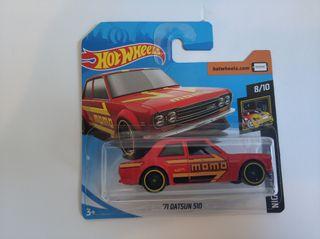 Hot wheels 71 datsun 510