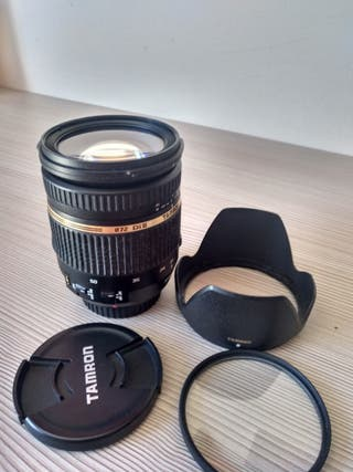 Objetivo Tamron 17 50 2.8 VC para Canon