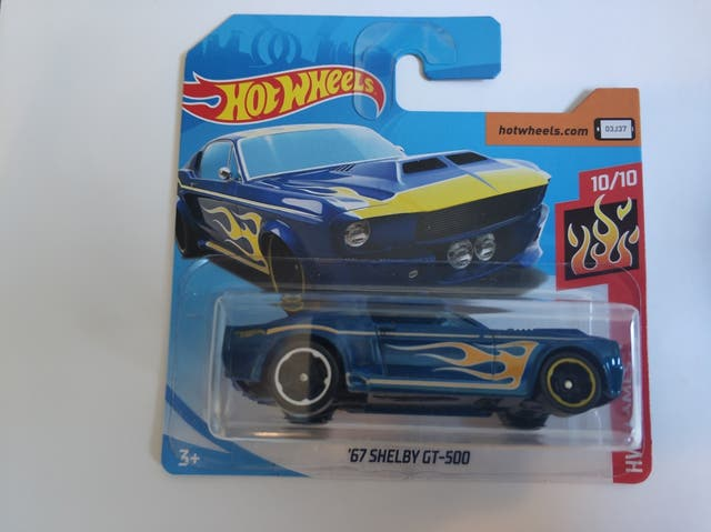 Hot wheels Shelby GT 500