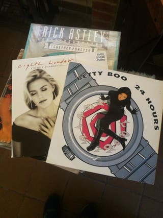 discos de vinilo de los 80