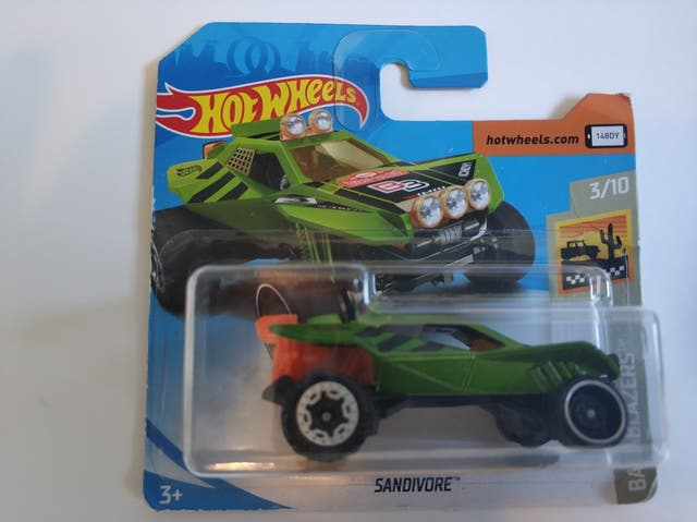 Hot wheels sandivore
