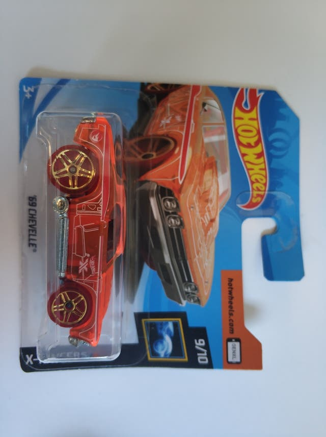 Hot wheels 69 chevelle th