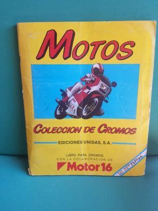 Álbum cromos motos