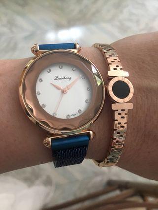 Conjunto reloj-pulsera TIENDA